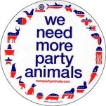 More Party Animals Gang Sticker
