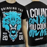 Mosh It Up Clothing Count On You BlackTeal T-Shirt