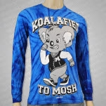 Mosh It Up Clothing Koala Tie Dye Long Sleeve Shirt