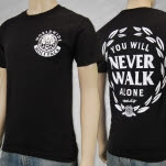 Mosh It Up Clothing Never Walk Alone Black T-Shirt