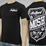 Mosh It Up Clothing Original Wolfpack Black T-Shirt