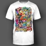 Most Addictive Doodle White T-Shirt