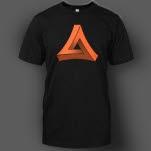 official Most Addictive Dubstep Orange on Black T-Shirt