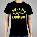Most Precious Blood Defend Hardcore T-Shirt
