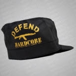 Most Precious Blood Defend Hardcore Black  75 Military Cap