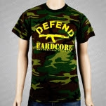 Most Precious Blood Defend Hardcore On CAMO T-Shirt