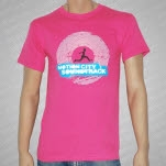 Motion City Soundtrack Runner Pink T-Shirt