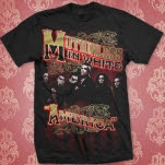 Motionless In White America Black T-Shirt