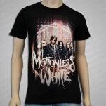 Motionless In White Full Band Photo Black T-Shirt