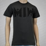 Motionless In White Icon Black On Charcoal Heather Charcoal Heather T-Shirt