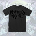 Motionless In White Logo Black on Black T-Shirt