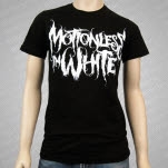 Motionless In White Logo Black T-Shirt