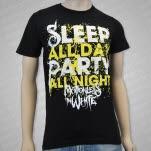 Motionless In White Sleep All Day Black T-Shirt