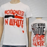 Motionless In White Watch You Die White T-Shirt