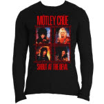 Motley Crue Shout Wire Long Sleeve