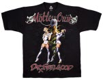 Motley Crue Dr Feelgood Girls T-Shirt