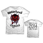 Motorhead World Cup England T-Shirt