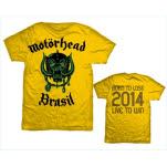 Motorhead World Cup Brazil T-Shirt
