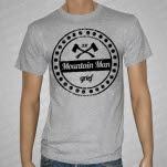 Mountain Man Axes Seal Heather Gray T-Shirt