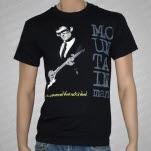 Mountain Man Rock Is Dead Black T-Shirt