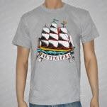 Mouthguard Ship Heather Gray T-Shirt