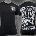 Mouth Of The South Not Alone Black T-Shirt