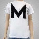 Movits M Logo White T-Shirt