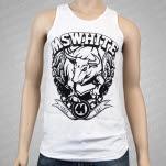 MSWHITE Bull White Tank Top