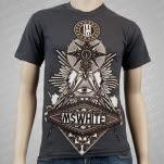 MSWHITE Mason Charcoal T-Shirt