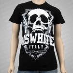 MSWHITE Skull Black T-Shirt