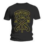 Mumford And Sons Pistol Label T-Shirt