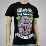 Music Over Matter Clothing Zombie Dog Black T-Shirt