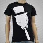 Muzzy Tie Guy Black T-Shirt