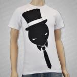 Muzzy Tie Guy White T-Shirt