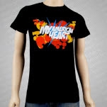 My American Heart Gun Black T-Shirt