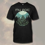 My Epic Mountain Black T-Shirt