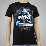 Myka    Relocate Lied To Light The Way Album Art Black T-Shirt