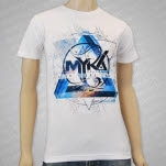 Myka    Relocate Lies To Light The Way Album Art White T-Shirt