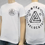 Myka    Relocate Penrose White T-Shirt
