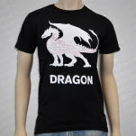 Mythical Creature Butcher Shop Dragon Black T-Shirt