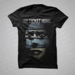 My Ticket Home Creep Black T-Shirt