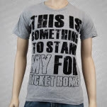 My Ticket Home This Is Something Heather Gray T-Shirt