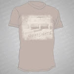 Nightlights Bench Tan T-Shirt