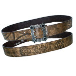 Nightwish Belt With Design Buckle