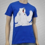 Nik Cooper Bear Royal Blue T-Shirt