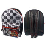 Nintendo Black White Mario Back Pack Backpack