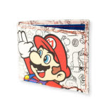 Nintendo White Mario And Luigi High Five Wallet