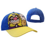 Nintendo Blue Wario Adjustable Cap