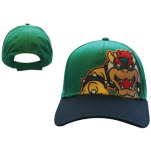 Nintendo Green Bowser Adjustable Cap