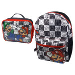 Nintendo Mario Luigi And Lunch Bag Backpack